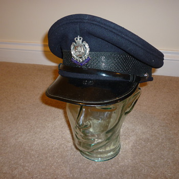 Hong Kong Police Inspectors cap 1980's - Military and Wartime