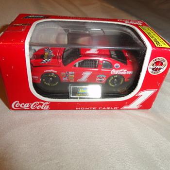 1997 #1 Coca Cola car & Coca Cola Playing Cards