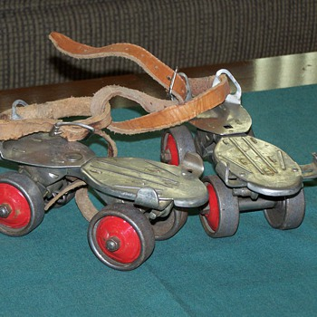 1960's Winchester Steel Roller Skates - Outdoor Sports