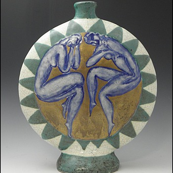Franch Ceramic by Edouard Cazaux - Art Pottery