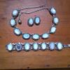 Interwar period Moonstone Jewellery Set