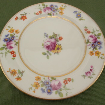 Coxon Belleek Plate - Unknown Pattern - Pottery