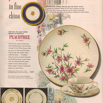 1950 Lenox China Advertisement
