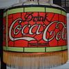 Vintage Coca Cola Lampshade