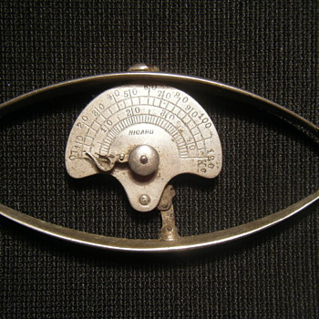 Doctor's hand grip strength/dynamometer turn of the century instrument