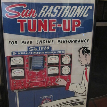 Sun Rastronic Tune up. - Petroliana
