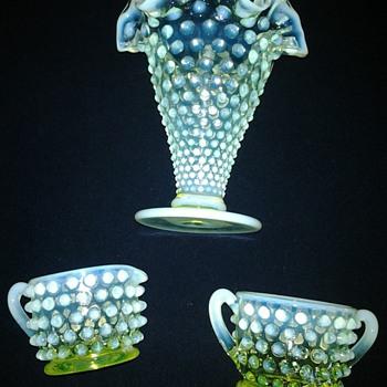 Vaseline / Uranium Glass - Glassware
