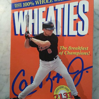 Baltimore Orioles - Cal Ripken Jr. - Wheaties Cereal Box