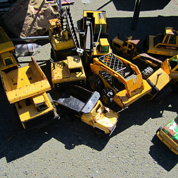 Tonka Trucks at Alameda - Model Cars