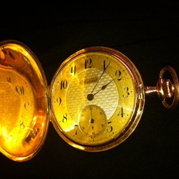 mozart gold watch - Pocket Watches