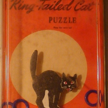 """Ringed -Tailed Cat"" Puzzle - Games"