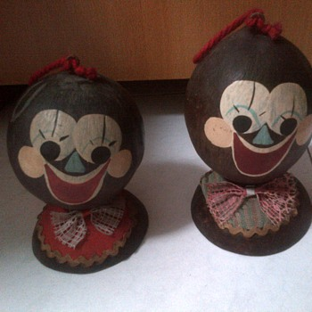 Coconut Shell Piggy Banks - Coin Operated
