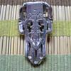 Rhinestone Silver Buckle