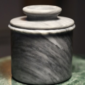 What is this covered marble container for? - Kitchen