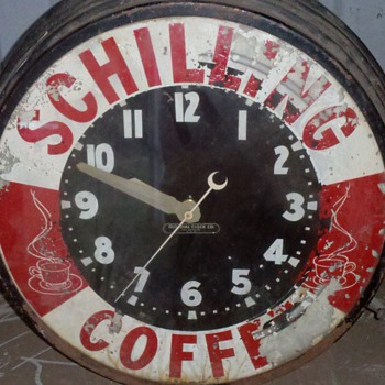 schilling coffee clock