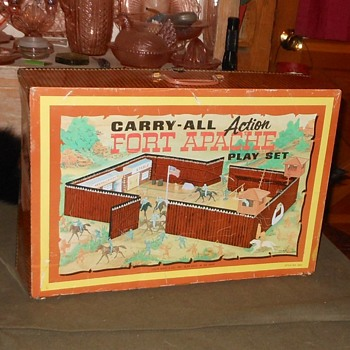Fort Apache Carry-All Playset - Toys