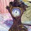 Montgomer Bros Seth Thomas brass mantal clock