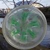 W M F IKORA GLASS  PLATTER/BOWL