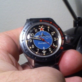 new possibly not new Wostok Komandirskie submarine watch