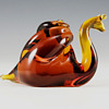 Pilgrim Art Glass Large Vintage Snail