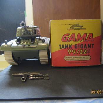 Gama Toy Tank - Model Cars