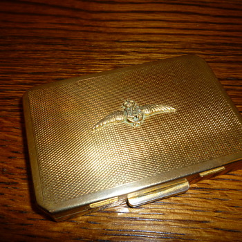 1950's Royal Air Force Stratton Powder Compact - Military and Wartime
