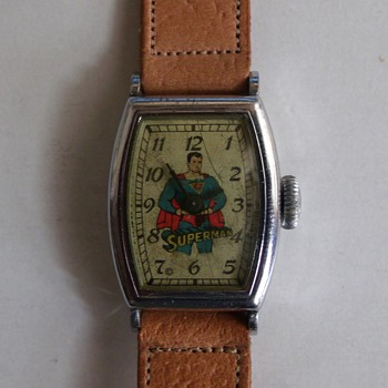 1948 Tonneua Style Superman Wrist Watch