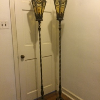 Torchiere Lamps - Lamps