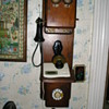 Wooden Kellogg  phone, Chicago co. Nov. 26, 1901