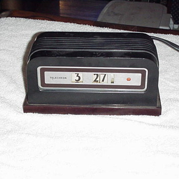 "Telechron Model 8B07 Cyclometer, "" Baron "" 1936-39"