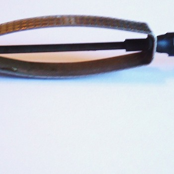 Vintage Kitchen Items, Fr. Bean Slicer, Ladle, coconut, Nut cracker, possibly used by Army Intelligence in Korea - Kitchen