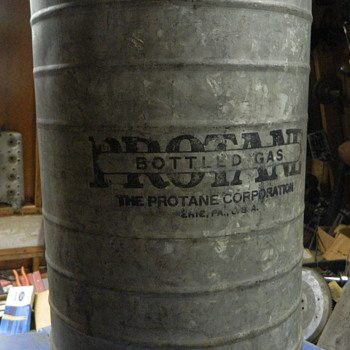 early propane cylinder - Bottles