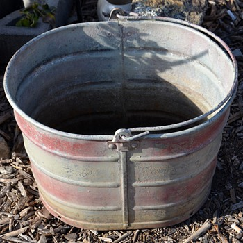 just an old bucket...