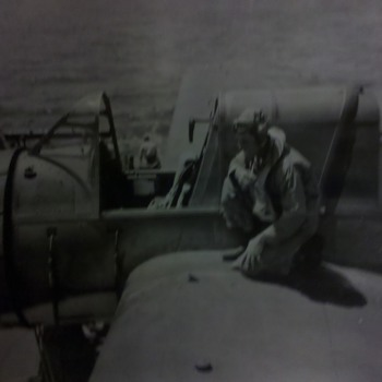 WWII US Navy/US Marine Pilots WWII photos