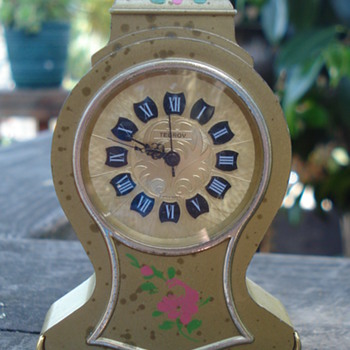 "SMALL CLOCK BY ""TEGROV"""