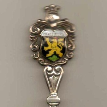 "Souvenir Spoon - ""Heidelberg"" (Germany) - Advertising"