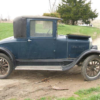 1926 Durant Star Coupe