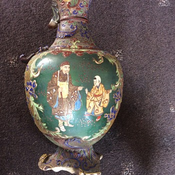 Mystery vase - Asian