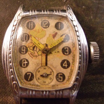 "Ingersoll ""Boy Scout"" Wrist Watch"