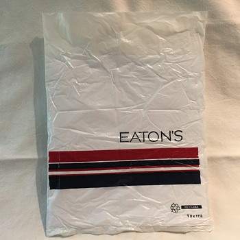 The T. EATON Co. Limited, Winnipeg EATONS Plastic Bag