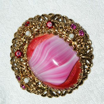 German Costume Brooch - How old could it be? - Costume Jewelry