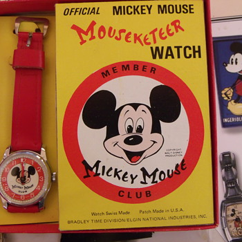 Official Mouseketeer Wrist Watch...CW's Show & Tell 100,000th posting - Advertising