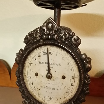 Antique Victorian Scale
