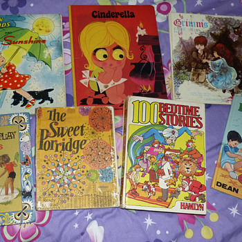 Some of our vintage childrens books - Books