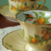 Limoges for Greenleaf &amp; Crosby Co. Teacups and Saucers