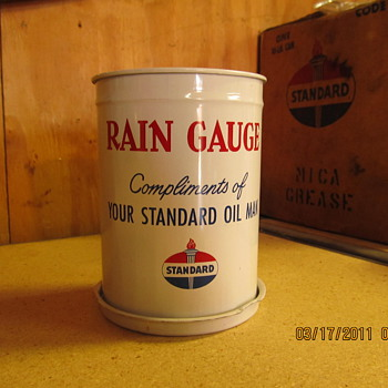 Standard oil.. rain gauge