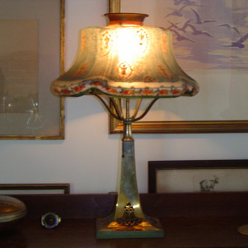 Nice gas converted Paipoint puffy - Lamps