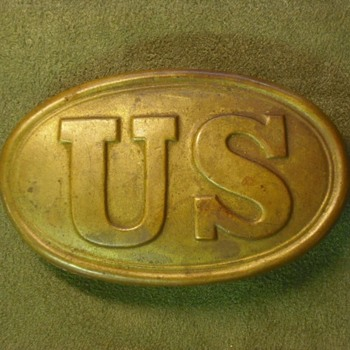Civil War Model 1839 US Oval Belt Buckle – Real or Memorex?
