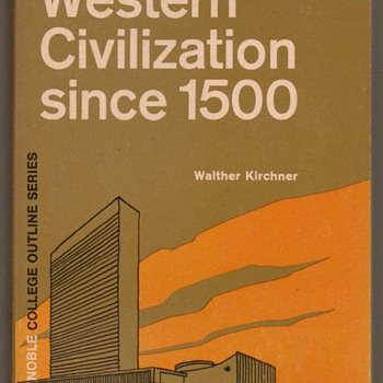 1971 - Western Civilization Since 1500 - Books