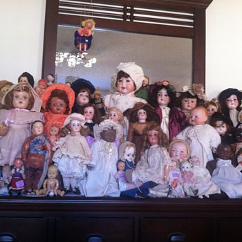 german dolls etc.